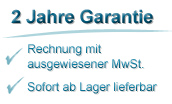 2 Jahre Garantie