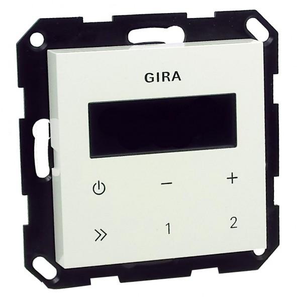 gira 228403 up radio rds ohne lautsprecher heimwerker haus garten unterhaltung. Black Bedroom Furniture Sets. Home Design Ideas