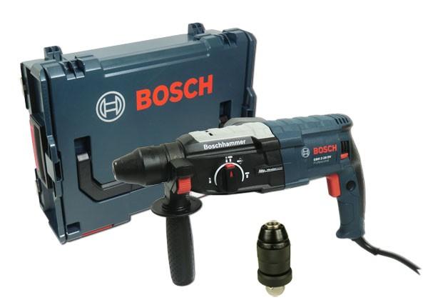 bosch gbh 2 28 dfv bohrhammer mit wechselfutter in l boxx werkzeuge bohren. Black Bedroom Furniture Sets. Home Design Ideas