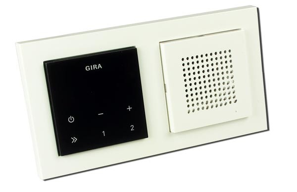 gira unterputz radio gira rds flush mounted radio gira. Black Bedroom Furniture Sets. Home Design Ideas