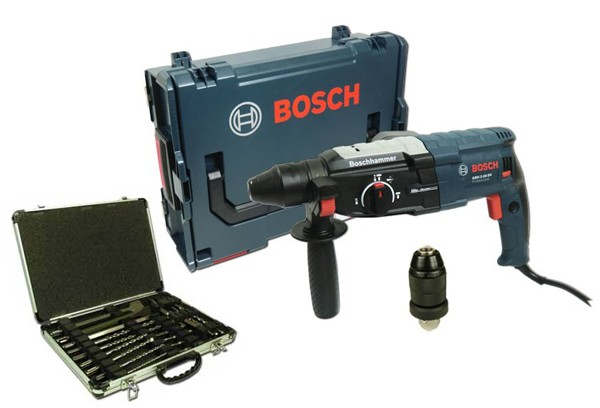 bosch gbh 2 28 dfv bohrhammer in l boxx makita bohrer mei elset werkzeuge bohren. Black Bedroom Furniture Sets. Home Design Ideas